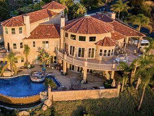Hilltop Mansion with Stunning View of North County