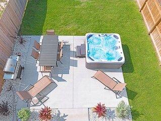 4B/2.5B Home Near Schooners/Beach - Fenced Yard - Hot Tub - Comfortable & Clean!