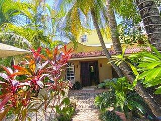 Jungle & Beach Villa1, one block from the Beach PUERTO MORELOS MEXICO