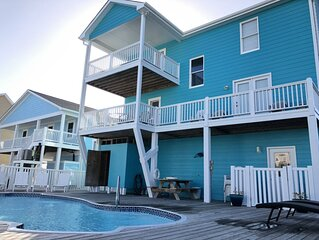Beautiful 5 BR Oceanview Home With Pool! Perfect For The Entire Family!