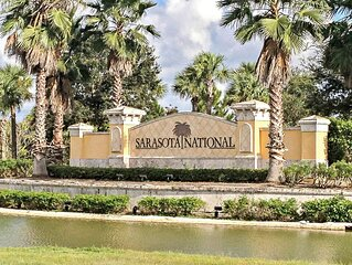 Gorgeous, Brand New Lake View Home at Sarasota National Golf Club