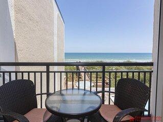 Beautiful Oceanfront Condo ~ Heated Pool ~ Sugar Sand Beach