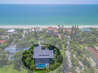 CASEY KEY BEACH HOUSE - large private pool & dock
