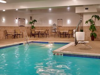 Free Breakfast. Pool. Gym. Your Next Trip!