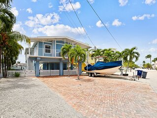 Dog-friendly home on a wide canal w/ amazing water views!