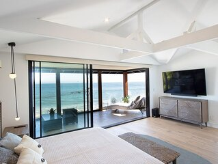 Beautiful Unobstructed Ocean View Malibu House With Heated Pool & Jacuzzi