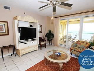 Beach Colony Tower 15D- Beach Front unit with large terrace & amazing views!