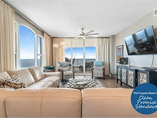 Beach Colony East 8A- Beach Front unit with large terrace & amazing views!