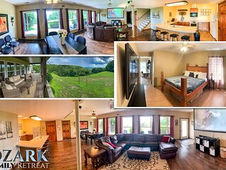 Ozark Family Retreat Overlooks Branson Missouri