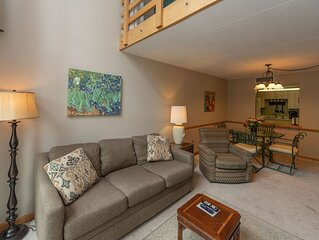 308D- 2 bedroom/2 bath condo, lakefront close to indoor pool and game room!