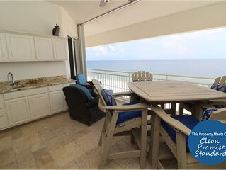 SeaSpray E1023 2BR PENTHOUSE - Directly Beach Front with Spacious Interior!