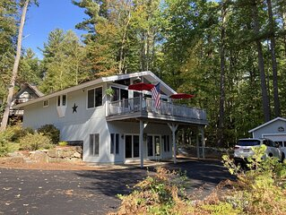 Winnipesaukee Lakehouse - Exquisite beach - Bring your boat!!!