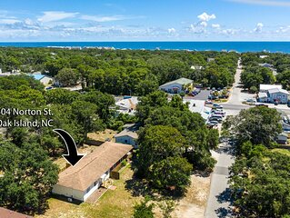 Remodeled SOHO Bungalow - quaint duplex cottage - Oak Island