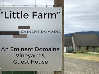 Vineyard and Farm in the middle of Oregon's best AVA. Ribbon Ridge.