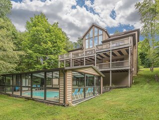 Lake Access Home w/Indoor Private Pool, Dock Slip, Hot Tub, & Pool Table!