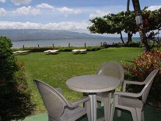 MAK-A3 - South Maui Beachfront Condo on Sandy Beach; Awesome Views; 2BR/2BA; Sle