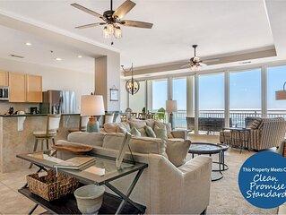 La Playa 202- Luxury Beach Front Unit with Stunning Views!