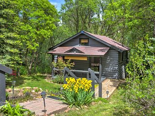 A hidden gem! Cabin nestled in the trees in Glenwood Springs.