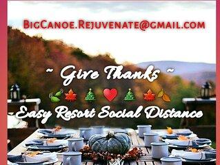'REJUVENATE at BIG CANOE ' a convenient resort getaway for Social-Distance