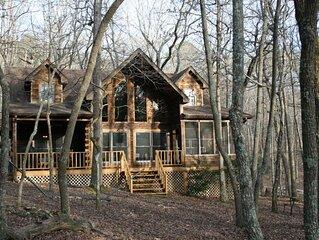 North Ga Mountain Log Cabin Located in Bent Tree Community