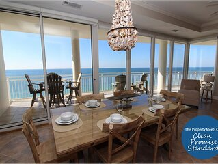 La Playa 1202- Beach Front Views with Luxurious Amenities!