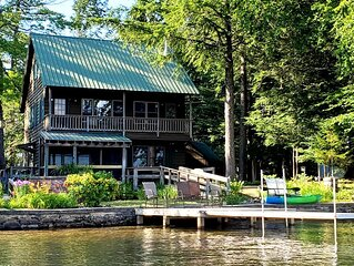 'Patriots Rest'- ADK Waterfront home w/ private dock & 1st floor bed/bath