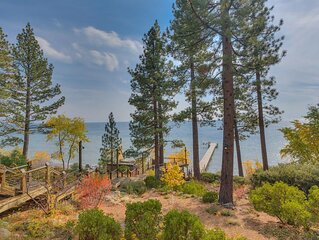 Sweeping Lake Views, Cozy and Classy Old Tahoe Home