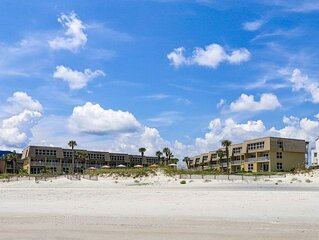 B208 The Coquina Condos: High End Oceanfront Condo w/ Private Beach and Pool