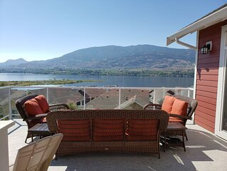 Amazing Views at the Cottages on Osoyoos Lake (sleeps 10)