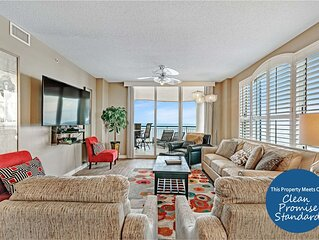 Luxe Beach Colony Corner Unit-Completely Updated, Fab Views Call Now!