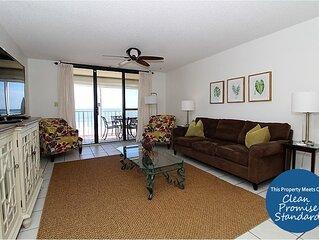 Chic Summerchase Beachfront Unit, Spacious Balcony & Updated Interior!
