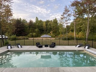 5 Star Rated Lake House in South Haven MI with Private Heated Inground Pool!