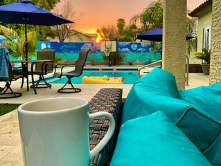 Wildflower Ranch Desert Oasis with Heated Pool**