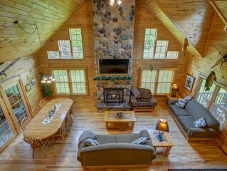 Log Cabin Lodge by Devil's Lake State Park, Downhill Skiing, Cascade Mtn, Dells
