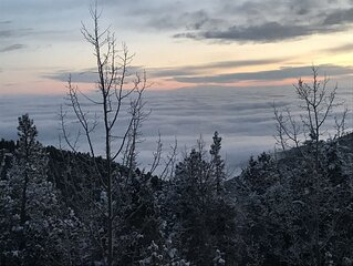 The Perch Above the Clouds