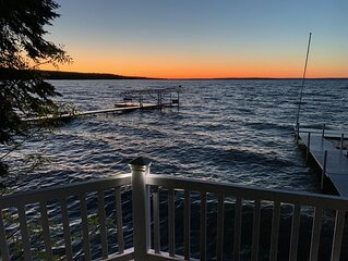 Best view of Burt Lake. Beautifully appointment home, 20 mins to Petoskey!
