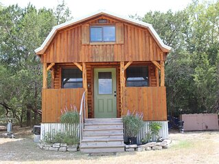 Little Frio Cabin - Quaint log cabin, tucked amongst the trees.