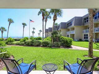 A102 The Coquina Condos: High End Oceanfront Condo w/ Private Beach and Pool