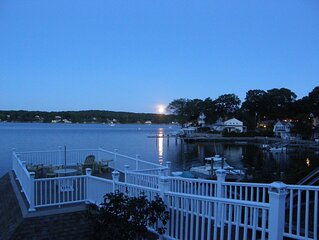 Family friendly direct waterfront vacation rental