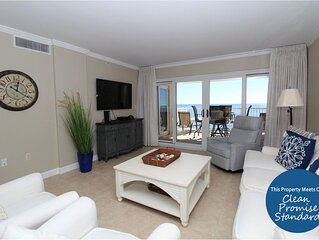 Sandy Key 513-Beach Front Views from Terrace with Luxurious Interior!