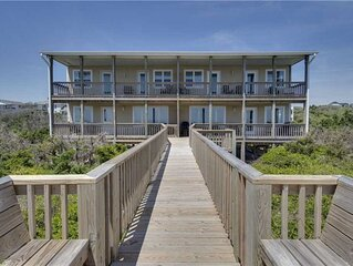 New! Oceanfront Oasis with double covered porch, updated 4 BR/2BA - Emerald Isle