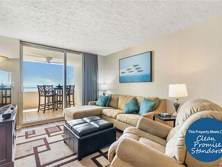 Newly Listed Gulf Front Perdido Sun Unit- Breathtaking Views & Indoor Pool!