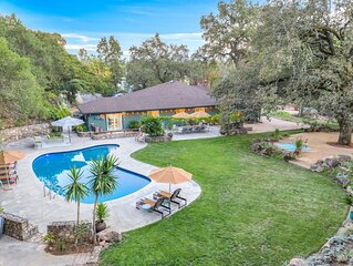 Private & Gated 2.6 acres Wine Country Paradise