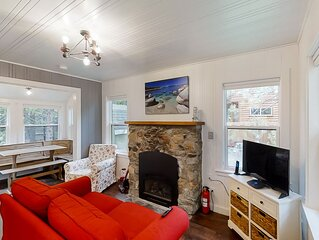 New listing! Efficient home away w/ spacious deck & full kitchen - dogs ok!