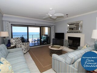 Updated Nautical Chic Shipwatch Rental, on Gulf! Discover Paradise!