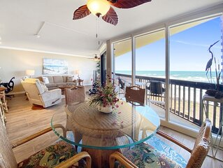 Sandpiper  #708: Beachfront 2 Bedroom 2 Bathroom With Spectacular Views and 24 H