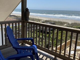 96 footsteps from house to beach!  Newly renovated!