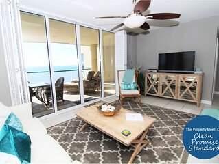 Posh Beach Colony Penthouse- Beach Chic Decor & Direct Gulf Views!