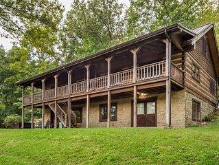 Oak Ridge Vacation Log Cabin