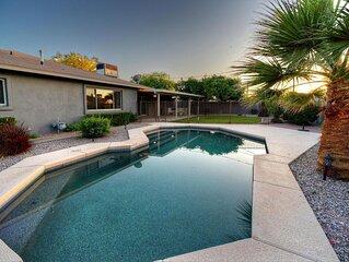 Hip Hacienda with Putting Green, Pool & Spa